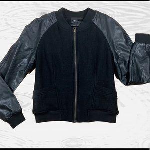 Sanctuary black size small boomer jacket